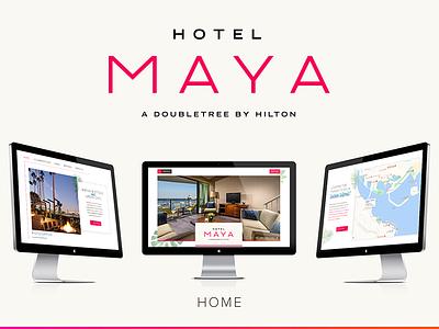 Hotel Maya website hotel