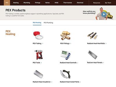 Category Landing | SupplyHouse.com e-commerce category landing