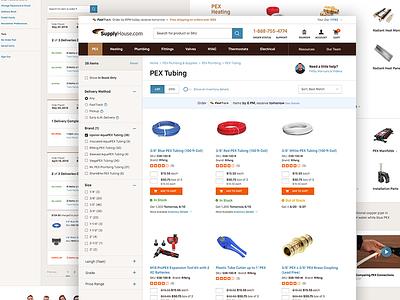 Category Listing Page | SupplyHouse.com e-commerce category listing page