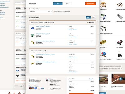 Cart | SupplyHouse.com e-commerce cart