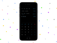 Chameleon - the Adaptive Calculator for iOS