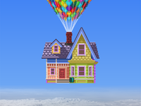 Pixel Up House