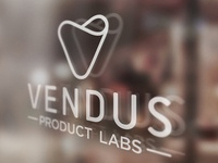 Vendus Window Decal
