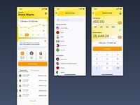 Money Transfer App Concept (Part 1)