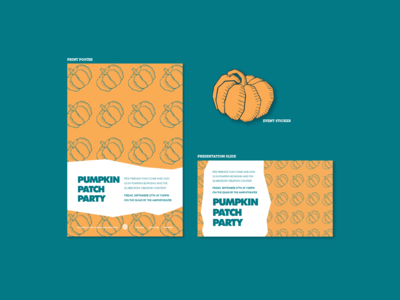 Pumpkin Patch Party Marketing Materials
