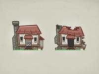 Raided House