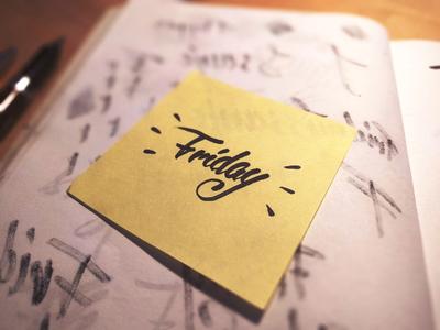 Friday, yo
