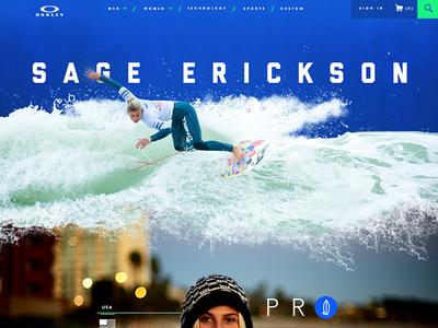 Oakley Surfing