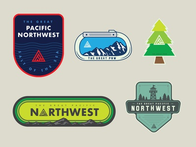 The Great PNW Stickers