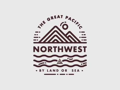 By Land or Sea Tee