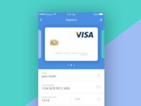 Daily UI #002 - Credit Card Payment