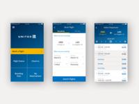 United Airlines App Redesign