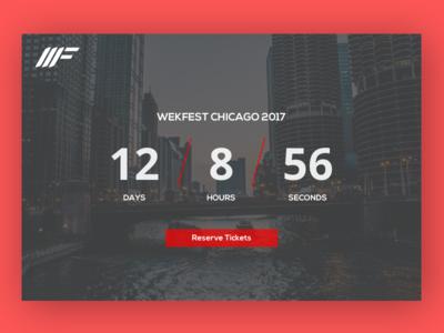 Daily UI #014 - Countdown Timer web timer countdown design ui ux 014 challenge dailyui