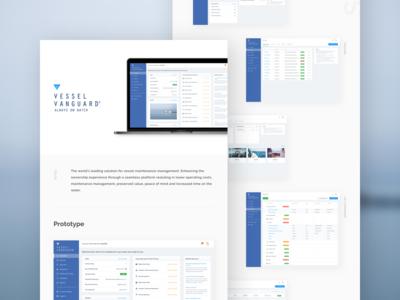 Yacht Maintenance Dashboard animation apps charts clean white dashboard boat yacht ui kit web design