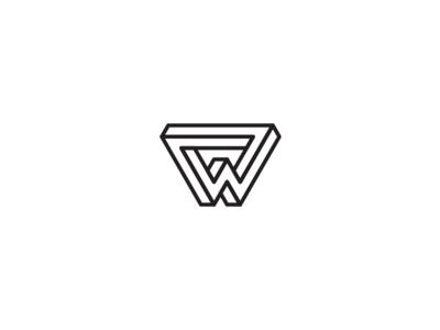 36 days of type -  W black and white minimal minimal design graphic design typography logo design logo branding 36 days of type
