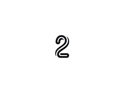 36 days of type - 2 black and white minimal minimal design graphic design typography logo design logo branding 36 days of type