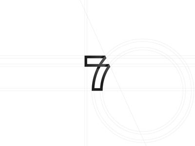 36 days of type -  7 black and white minimal minimal design graphic design typography logo design logo branding 36 days of type