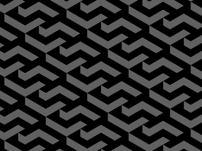 Isometric pattern vector architecture illusion depth black and white graphic designer design brand graphic design monochromatic pattern isometric