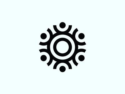 Roundtable rebranding minimal design simplicity graphic designer logo design simple design minimalist icon graphic design design brand minimal black and white branding mark logo