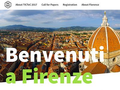 TicTec 2017 home florence conference source sans