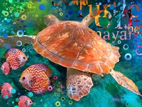 Sea Turtle with Type V1