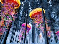 Winter Forest of Jellyfish Worlds
