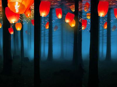 Forest Lanterns