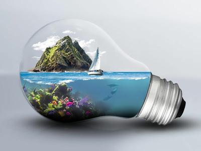 Lightbulb Island