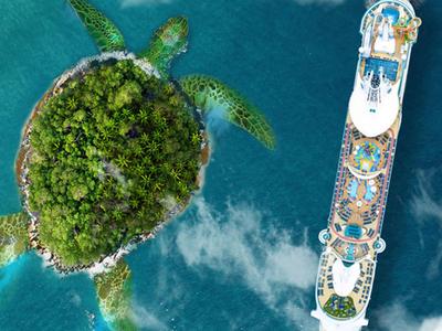 Cruising by Turtle Island