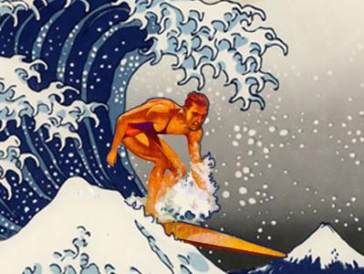 Great Wave Surfer