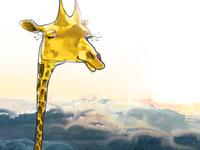 Giraffe desktop calendar April 2013