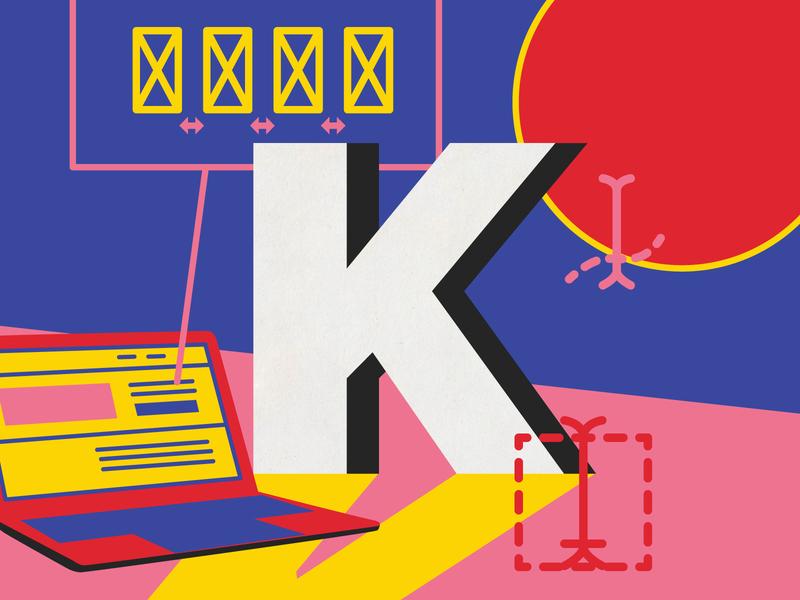 Kerning lettering art design digital art graphic  design ui ux ux vector australia type 36 days of type illustration lettering typography melbourne