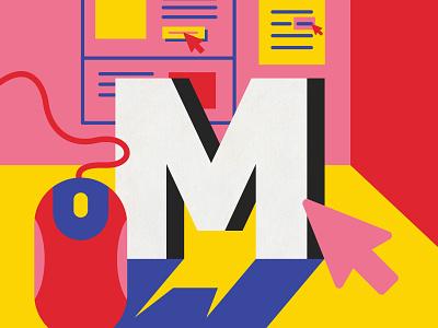 Mouseover illustrator digital art graphic  design ui ux lettering art ux vector design australia type 36 days of type illustration lettering typography melbourne