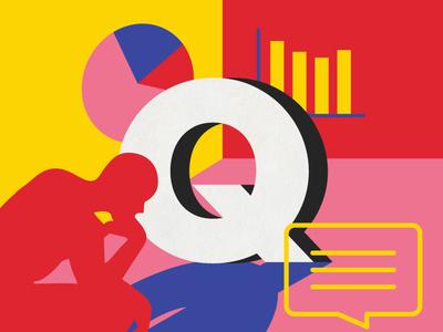 Qualitative & Quantitative Data ux ui digital art graphic  design ui ux ux vector australia alphabet 36 days of type type illustration lettering typography melbourne