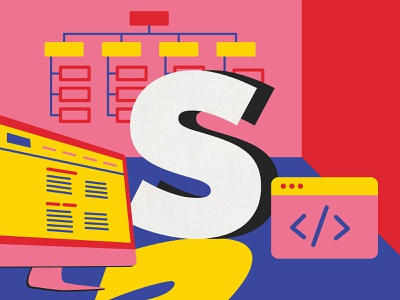 Site Map web design ui ux site map ui ux design australia digital art 36 days of type type illustration lettering typography melbourne