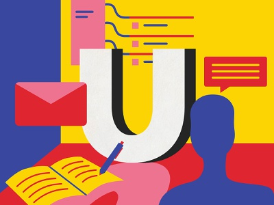 User Research ux ui ux user research ux ui vector design australia digital art 36 days of type type illustration lettering typography melbourne