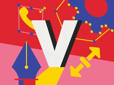 Vector Graphics vector design australia ui ux digital art 36 days of type type illustration lettering typography melbourne