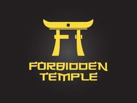 Forbidden Temple Logo Design