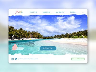 Daily UI 003 adobe photoshop adobe xd adobexd ux ui mauritius design landing page dailyui 003 dailyui