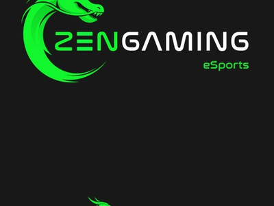 Zengaming Logo sage beast asian circle teams esports gaming zengaming dragon zen