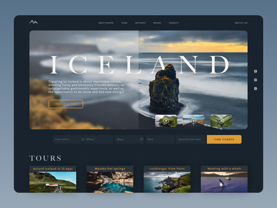 Iceland Tours Search Site Main Page