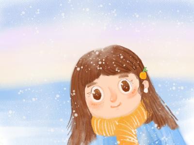 A little  girl