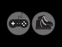 Screen Time -VS- Play Time b&w