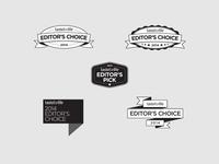 Editor's Choice Badges