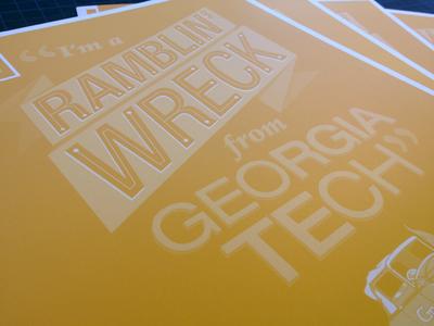 Georgia Tech Pocket Folder
