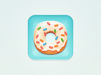 Donut ICON donut icon ui rex food