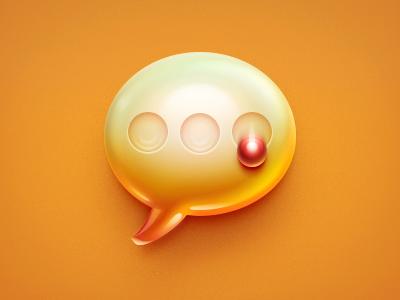 What's msg msg icon rex ui app orange