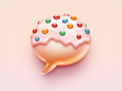 sweet? msg msg icon rex china sweet donut