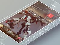 iPhone App UI (Albums )