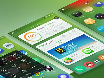 Young life UI ui phone icon mobile theme rex widget
